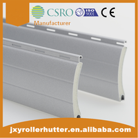 45mm aluminum roll up shutter bars window