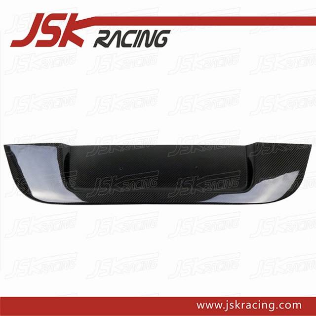 M5 STYLE CARBON FIBER LICENSE PLATE FRAME FOR BMW E60 (JSK080409)
