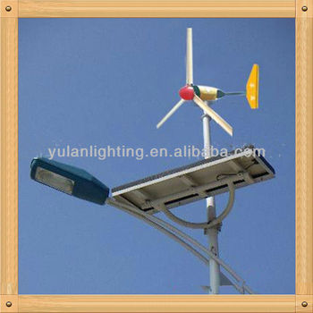 2013 hot selling solar wind street light