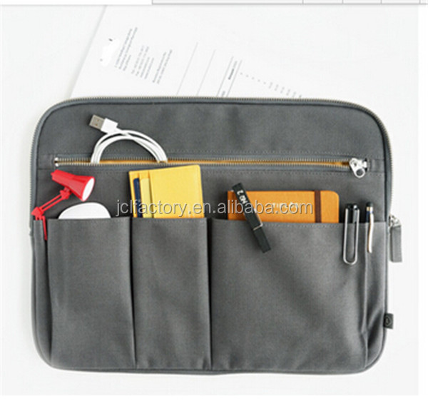 canvas computer networking briefcase tool bag