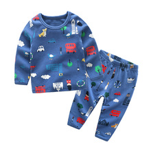 New cute children's clothes two pieces kid clothing set