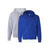 Wholesale 100% Cotton Plain custom hoodie Blank Zipper Up Hoody