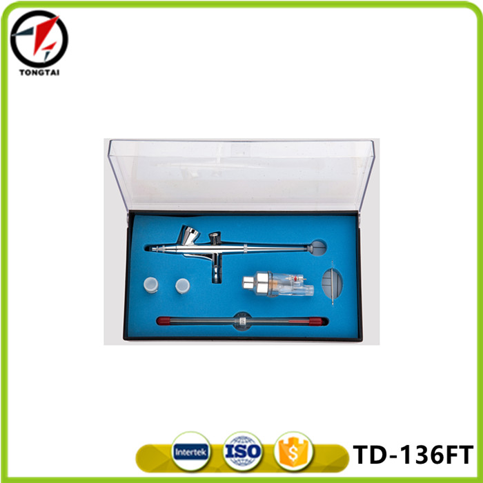 Tiandi high quality spray gun TD-136FT with mini filter and three different Dia