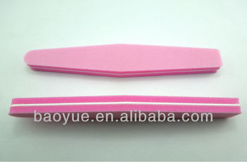 Convenient Pink Diamond Nail Buffer