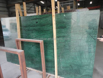 best quality slab size indian green marble slab price