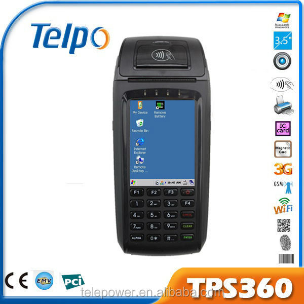 TPS360 windows terminal programmable mifare card with financial certification