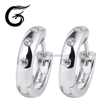 Exotic wholesale jewelry 925 silver earrings fashion earring hoop