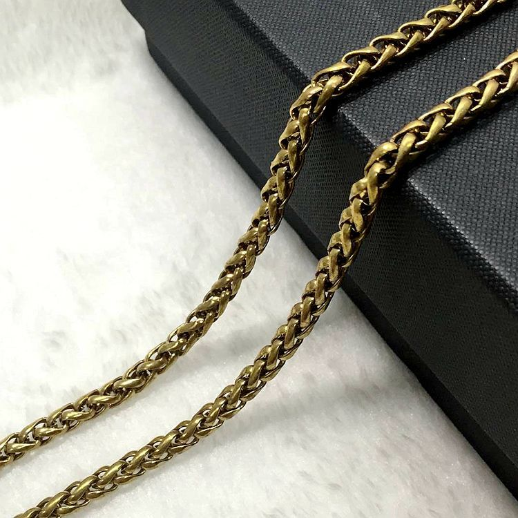 316 stainless steel wholesale neck chains different types of necklace chains jewelry