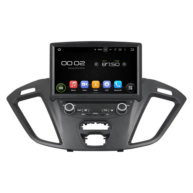 support DAB+ and WAZE map android 5.1.1 2 din car dvd navigation for Ford Transit