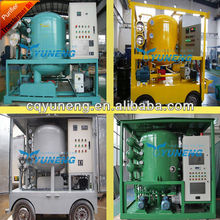 ZJA Series Double-stage High Vacuum Transformer Oil Change Oil Reclamation Oil Dehydration Plant