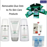 Removable Glue Dots to Fix or Assemble Skin Care Products