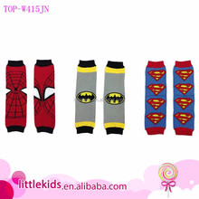 Baby Leg Warmers Knitting Cartoon Pattern Cute Baby Cotton Leg Warmers Kid Toddler Boys Girls Knee Pad Length