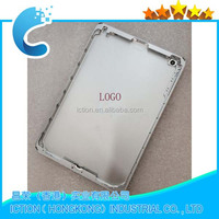 Grey & Silver Aluminum Battery Door Housing Replacement for Ipad mini 2 Housing Back cover 3G version With logo
