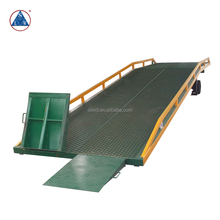 6000kg new design steel 10t container loading&unloading load ramp
