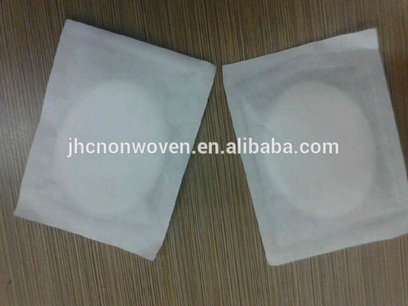 Disposable adhesive non-woven cotton eye pad product