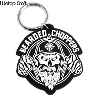 Promotional Custom 2D 3D Epoxy Soft PVC Keychain BPA Free No Minimum
