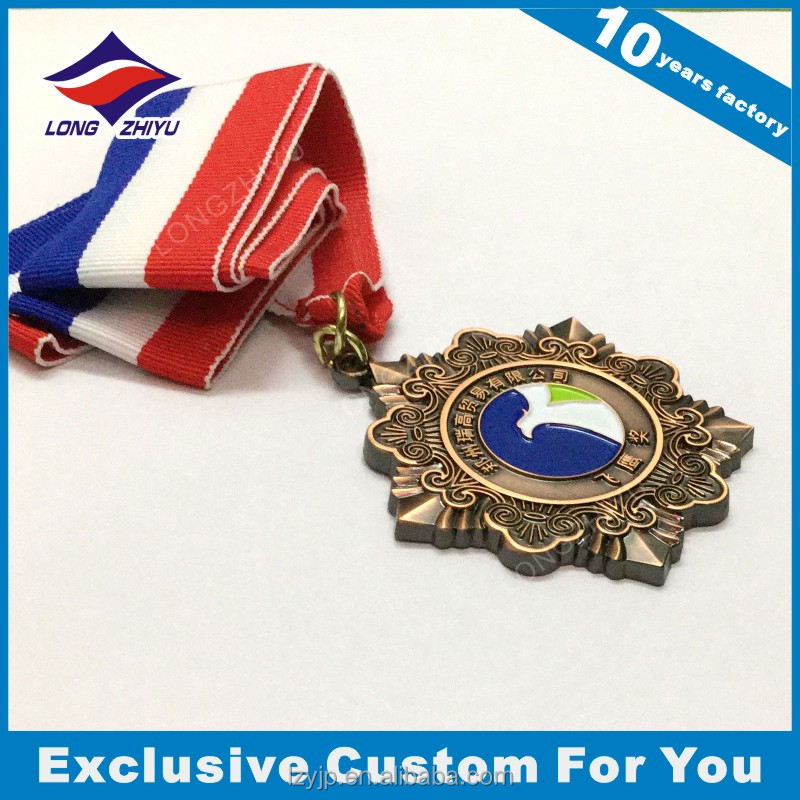 Shenzhen Medal,Souvenir Use Antique Brass Material Medal for Bodybuilding