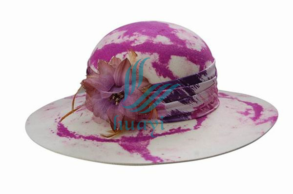 Wholesale womens dress hats with wide brim