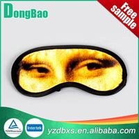 Cheapest plain funny beautiful cotton eye sleep mask