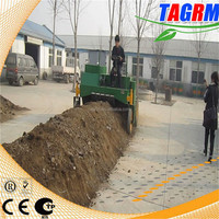 Cow manure processing compost turner machine for fertilizer M2000