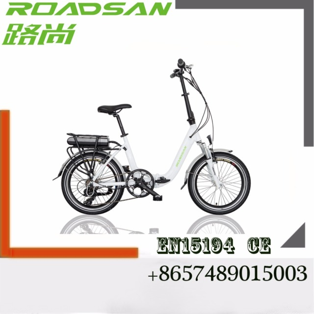 Sale folding bike mad in China cheap electric bicycle