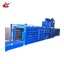 Hydraulic automatic press baler machine for paper, plastic, cardboard, cloth, hay, grass, PET bottles, bagasse ect