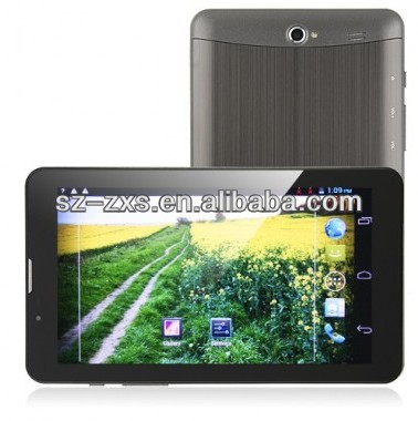 ZXS-OEM Android Tablet PC 7 inch MTK 8377 CPU 800*480 512MB DDR3 Built-in Android 4.1 OS, Dual Core Dual Camera Tablet PC