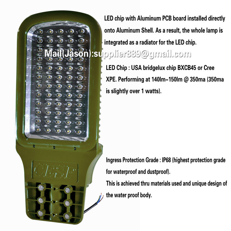 Outdoor Led garden wall lamp, Meanwell driver UL CE cUL DLC Rosh 40W 80W 120W 150W Retrofit IP68 LED Street Light