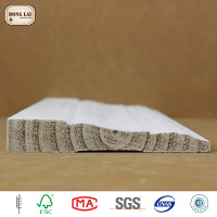 Custom Waterproof Pine high quality cheap timber White gesso primed finger joint board in radiata