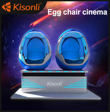 Virtual Reality VR 9D Cinema Factory price 9d vr 3d glasses 2 seats VR Amusement Game Best quality 9d cinema