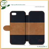 2013 hot selling wallet case for iphone 5, for iphone 4, for iphone 5C