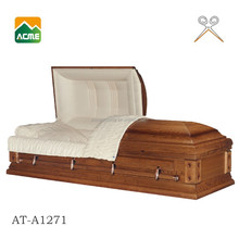 AT-A1271 MDF solid venner mortuary casket