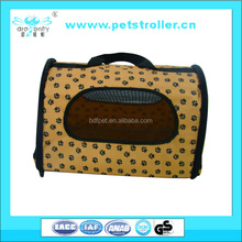 New Luxury Pet Travel foldable Carrier Pet Home and outside Soft Crate