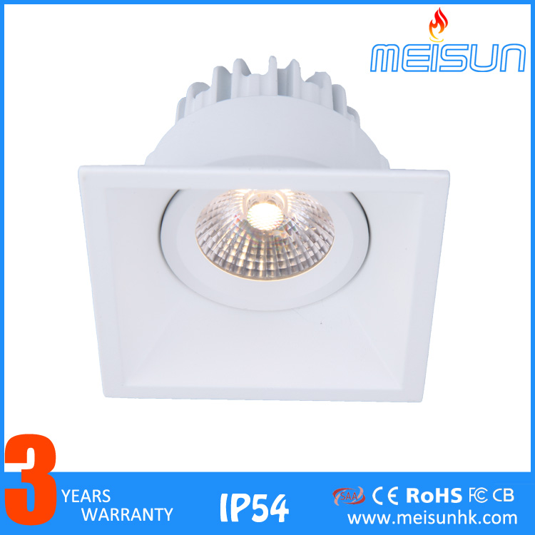 2017 high quality cree led lights recessed ceiling lights