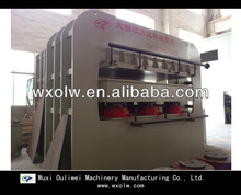 2013 well-sold furniture board lamination press machine prodction line