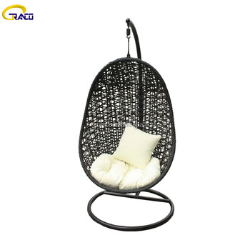 Good selling outdoor garden rattan hanging egg chair