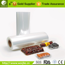 plastic food package vaccum 9 layers high barrier transparency co-extruded pa/pe film