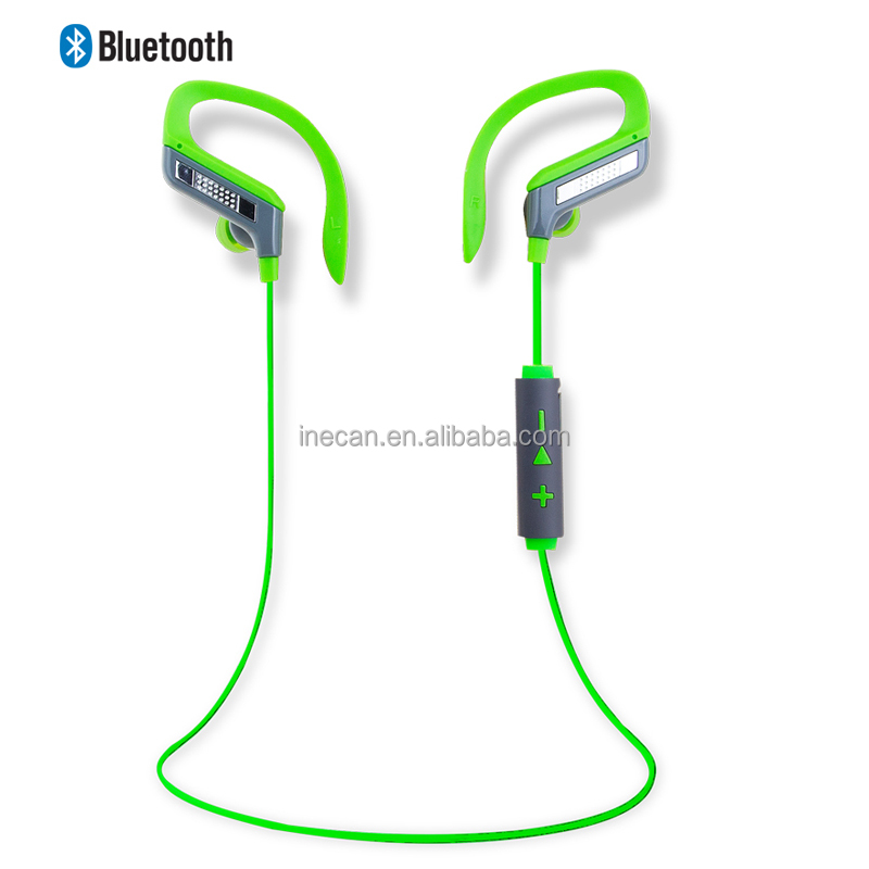 Hands free earhook headsets with CE&ROHS certification bluetooth earphones