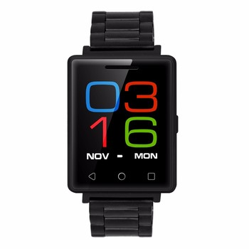 G7 MTK2502 Touch Screen Heart Rate Monitor Bluetooth 4.0 For Andoird and IOS Steel Strap smart watch