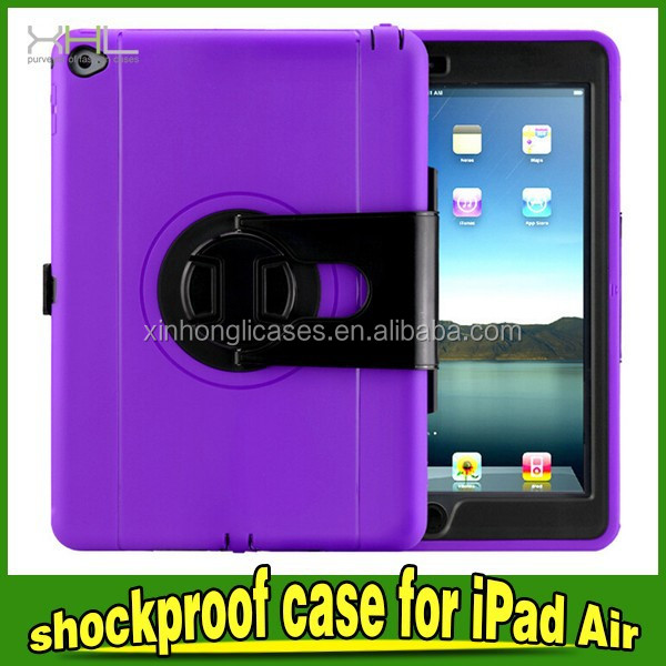 3 In 1 Stand Shockproof Protective Case For Apple IPad Air 2
