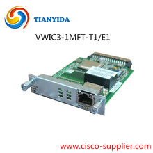 Cisco Voice WAN Interface Card Expansion Module VWIC3-1MFT-T1/E1