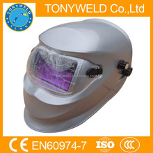 Welding helmet auto darkening with air filter