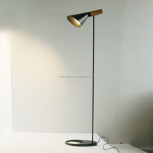 wholesale modern brief iron AJ shape design floor standing lamps for liveing room