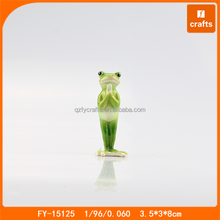 Resin animal statues kungfu yoga frog