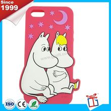 New color direct factory bear shape silicone mobile phone case