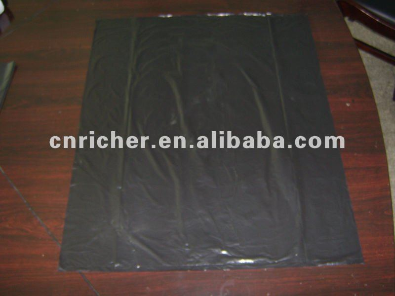 HDPE/LDPE recycle eco friendly trash/garbage/rubbish/refuse/waste plastic flat bag on roll