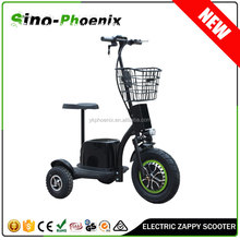 48V20Ah Zappy 3 wheel electric scooter stand up electric scooter ( PN-ES20B-500W )