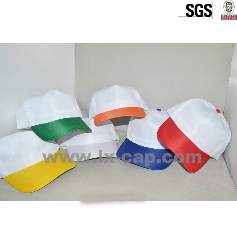 custom fashion High quality 6 panels cheap baseball cap flat top