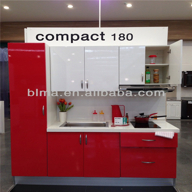2017 Cheap modern kitchen cabinet, budget hotel kitchen furniture direct from China