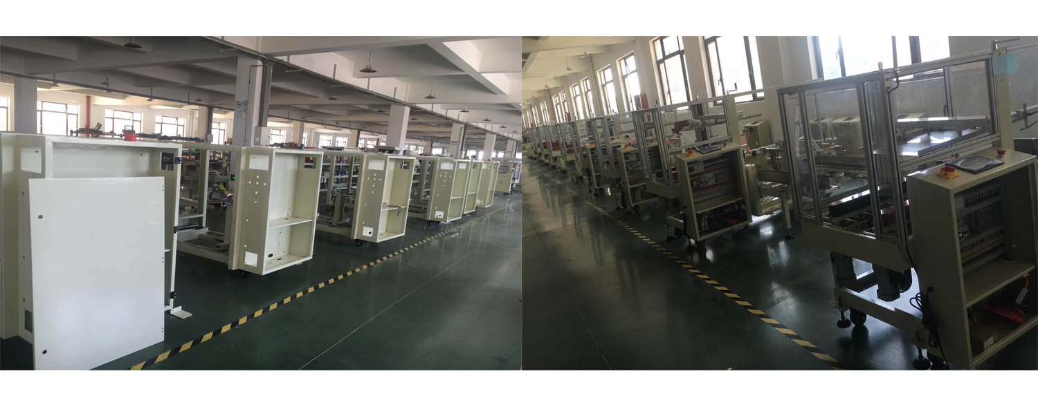Brother Packing CES4035N automatic case erector carton erecting machine with bottom sealing(MITSUBISH PLC)